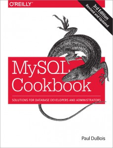 MySQL Cookbook Book Cover
